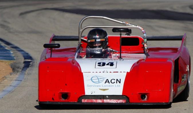 John Harrold's #94 1994 Chevron B23/36 won Group B with 68 laps completed. (Chris Jasurek/Epoch Times)