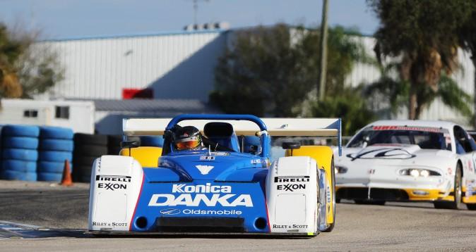 Rick Carlino and Derek Jones won Group C/D in their 1996 7-liter Riley & Scott Mk III. (Chris Jasurek/Epoch Times)