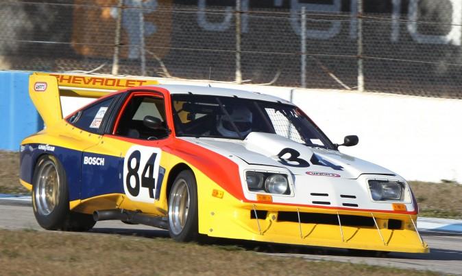 This could be Toby Bean in the #84 DeKon Monza. (Chris Jasurek/Epoch Times)