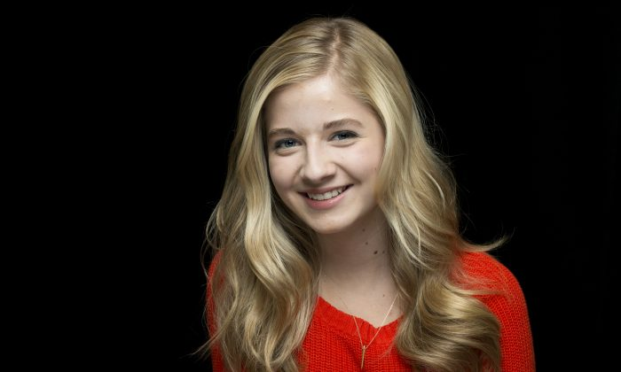 In a Sept. 22, 2014 file photo, classical crossover singer Jackie Evancho  (Photo by Drew Gurian/Invision/AP, File)