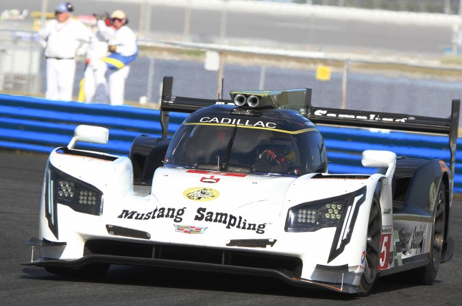The #5 Action Express Cadillac DPi V.R. seems to have less busy front end aero than the Mazda or Riley. (Chris Jasurek/Epoch Times)
