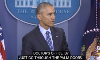 Video: Obama Stops Press Conference for Sick, Fainting Woman, Calls His Doctor