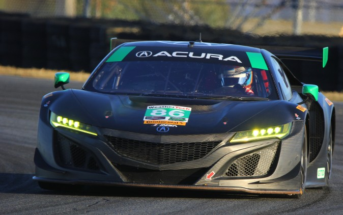 IndyCar champion and Indy 500 winner Ryan hunter-Reay will be co-driving one of Michael Shank Racing's GTD Acura NSXs. (Chris Jasurek/Epoch Times)
