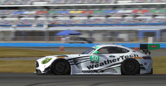Shane van Gisbergen will co-drive with Cooper MacNeil and Gunnar Jeannette in the #50 Riley Motorsports/WeatherTech Racing Mercedes AMG GT3. (Chris Jasurek/Epoch Times)