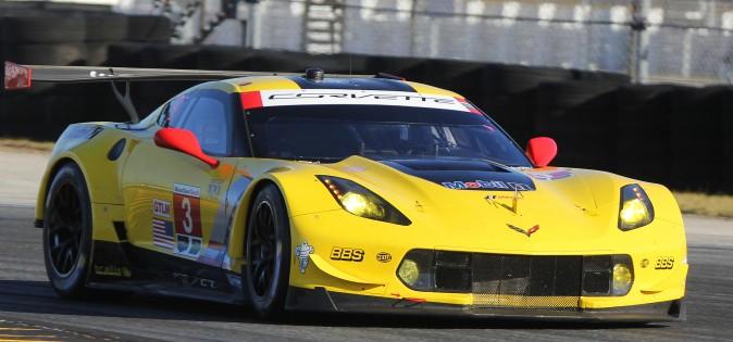 Antonio Garcia in the #3 C7.R. was the quickest of the Corvettes. (Chris Jasurek/Epoch Times)