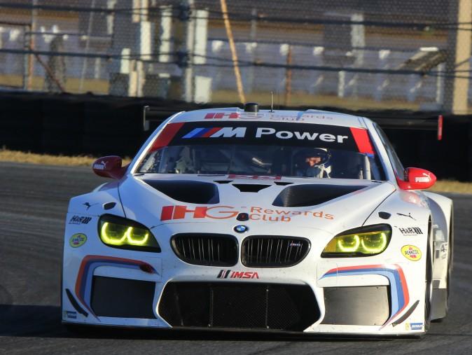 Bill Auberlen was the quickest of the #25 BMW drivers. (Chris Jasurek/Epoch Times)