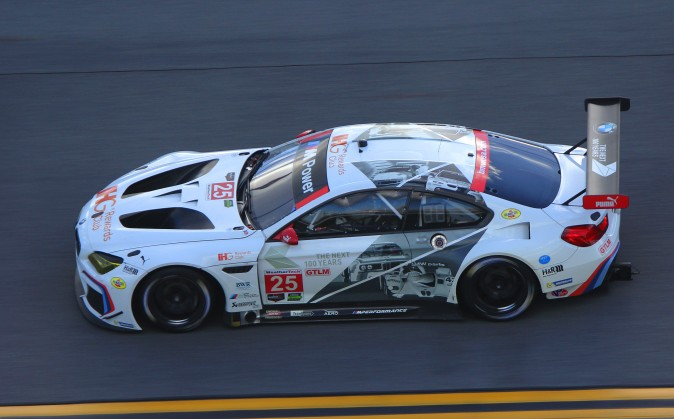 Bruno Spengler in the #25 BMW M6 GTLM was second-fastest of the GTLMs 174.7 mph. (Chris Jasurek/Epoch Times)