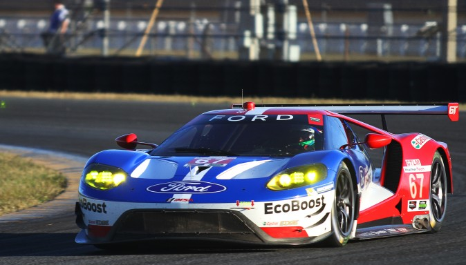 Ford Chip Ganassi Racing will be bringing four Ford GTs to the 2017 Rolex 24 at Daytona. . (Chris Jasurek/Epoch Times)