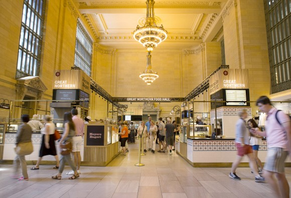 The Great Northern Food Hall at Grand Central Terminal. (Courtesy of Great Northern Food Hall)