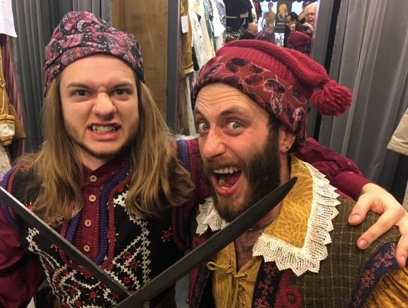 "Singers Adam Norad and Brian Dearden as two rowdy pirates in ""The Pirates of Penzance."" (Courtesy Toronto Operetta Theatre)"