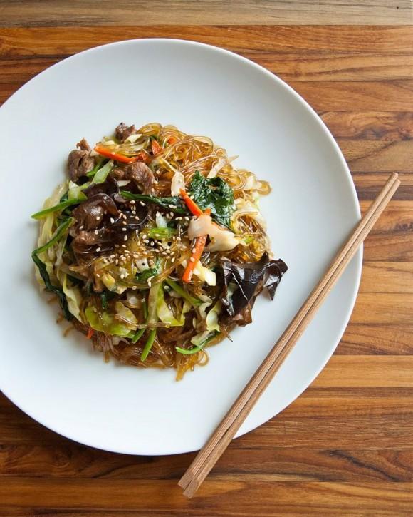 A Korean noodle dish by Ejen. (Courtesy of Spiked Mug Fest)