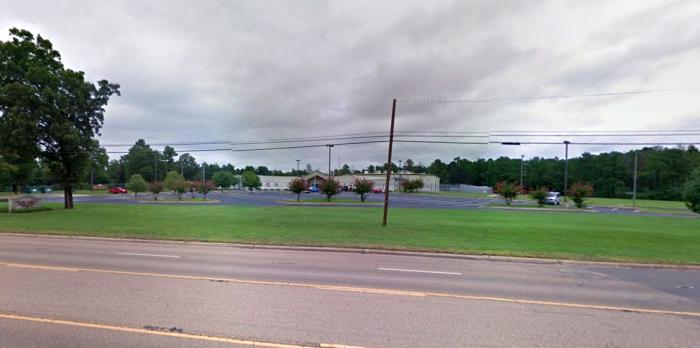 The jail in Texarkana (Google Maps)