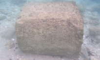 Ancient Stone Found at Underwater Site Reveals Historical Information (Video)