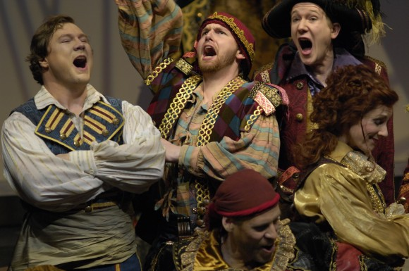"""A scene from  the Toronto Operetta Theatre's production of """"The Pirates of Penzance,"""" in 2011. (Gilberto Prioste)"""