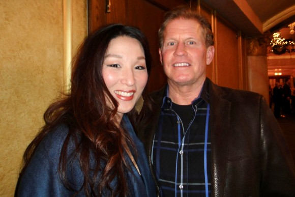 Soomi Lee and Ron Clem attend Shen Yun Performing Arts at the Detroit Opera House, Detroit on Dec. 22, 2016. (Epoch Times)