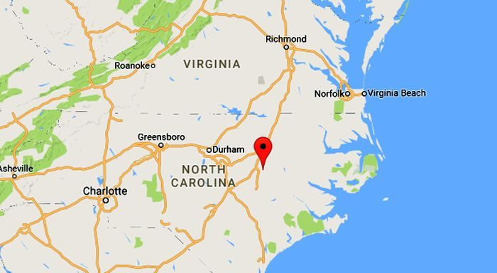 Police say four people were shot and killed in Wilson County, North Carolina, on Christmas Eve. (Google Maps)