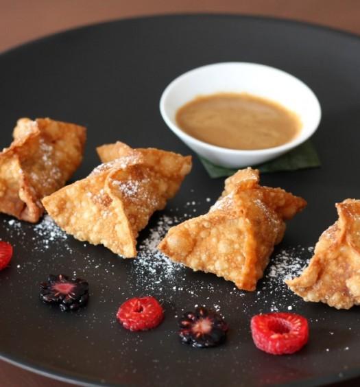 Sweet plantain dumplings. (Courtesy of Tavo)