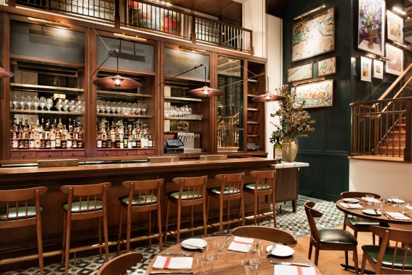 Union Square Cafe Bar, designed by Rockwell Group. (Emily Andrews)