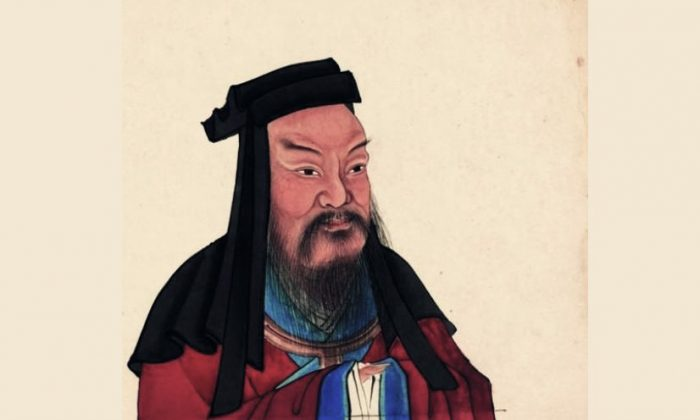 Chinese historical figure, Cao Cao. (Public domain)