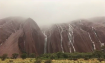 Majestic Waterfalls Emerge at Ayers Rock After Record Rainfall (Video)