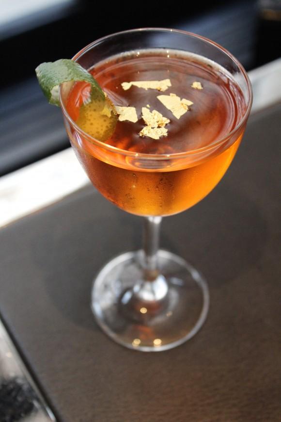 The Dubai cocktail. (Courtesy of The Lambs Club)