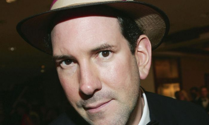 News reporter Matt Drudge attends the White House Correspondents' Dinner at the Washington Hilton Hotel on April 30, 2005 in Washington DC.  (Photo by Evan Agostini/Getty Images)