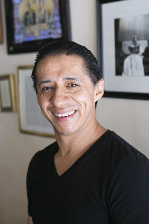 Jimmy Robles, chef at Tea and Sympathy. (Samira Bouaou/Epoch Times)