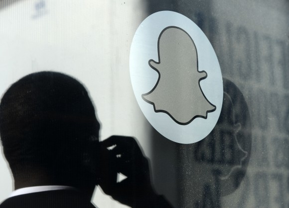 The front entrance of the headquarters of Snapchat  in Venice, Calif., on Nov. 14, 2013. (Kevork Djansezian/Getty Images)
