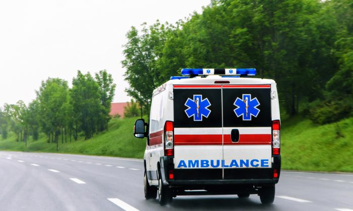 Ambulance. (OgnjenO/shutterstock)