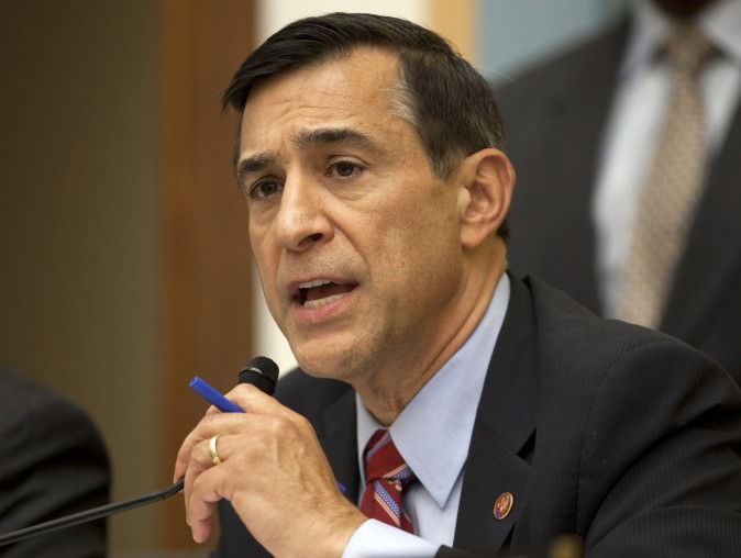 House Oversight Committee Chairman Rep. Darrell Issa, R-Calif., speaks on Capitol Hill on May 15, 2013. (AP Photo/Carolyn Kaster, File)
