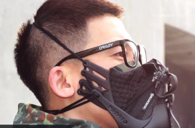 This Designer Turns Running Shoes Into Smog Masks (Video)