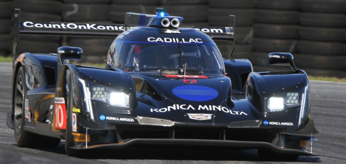 The #10 Wayne Taylor Racing Dallara-Cadillac DPi V.R. was second quickest in both sessions. (Chris Jasurek/Epoch Times)