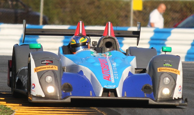 The Bar1 Prototype Challenge cars were quickest in the two Friday sessions: the #20 in the morning and the #26 in the afternoon. (Chris Jasurek/Epoch Times)