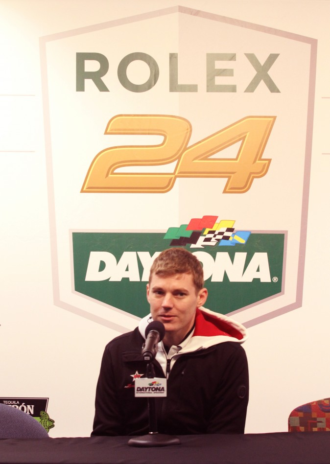 Ben Hanley, driver for Dragonspeed Racing, had never been to Daytona prior to the Roar. (Chris Jasurek/Epoch Times)