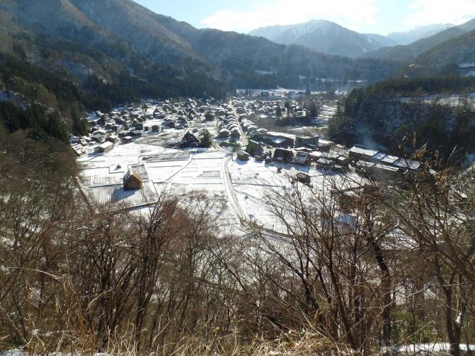 Figure 6 A view from the Shiroyama Viewpoint. (Miyuki Chua)