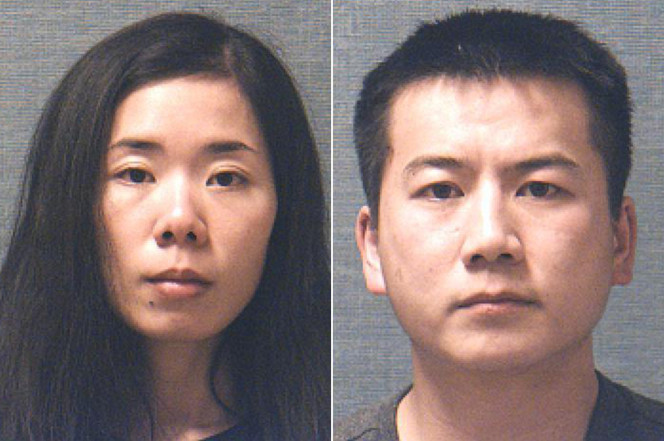 MingMing Chen and Liang Zhao (Stark County Sheriff)