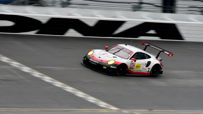Porsche GT Team's #912 911 RSR was slowest of the GT Le Mans field. (Bill Kent/Epoch Times)