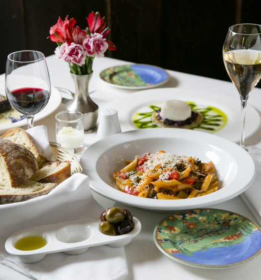 Gabriel's serves comforting Italian dishes in an elegant atmosphere. (Samira Bouaou/Epoch Times)