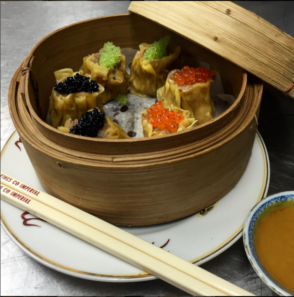 Kings County Imperial shumai. (Courtesy of Kings County Imperial)