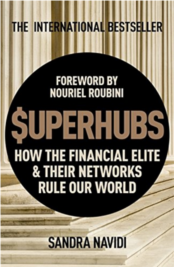 The cover of $uperhubs by Sandra Navidi