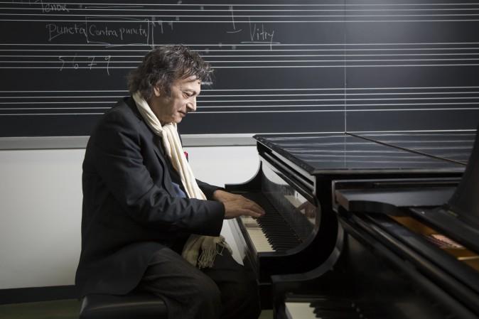 David Dubal at Juilliard School in New York City on Jan. 24, 2017. (Samira Bouaou/Epoch Times)