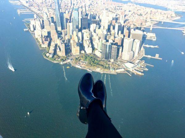 Sibylle's foot selfie. (Sibylle Eschapasse)