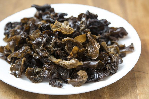 Wood ear mushrooms. (Samira Bouaou/Epoch Times)
