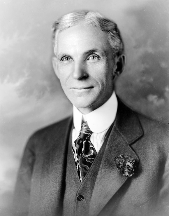 Portrait of Henry Ford (ca. 1919) (public domain)