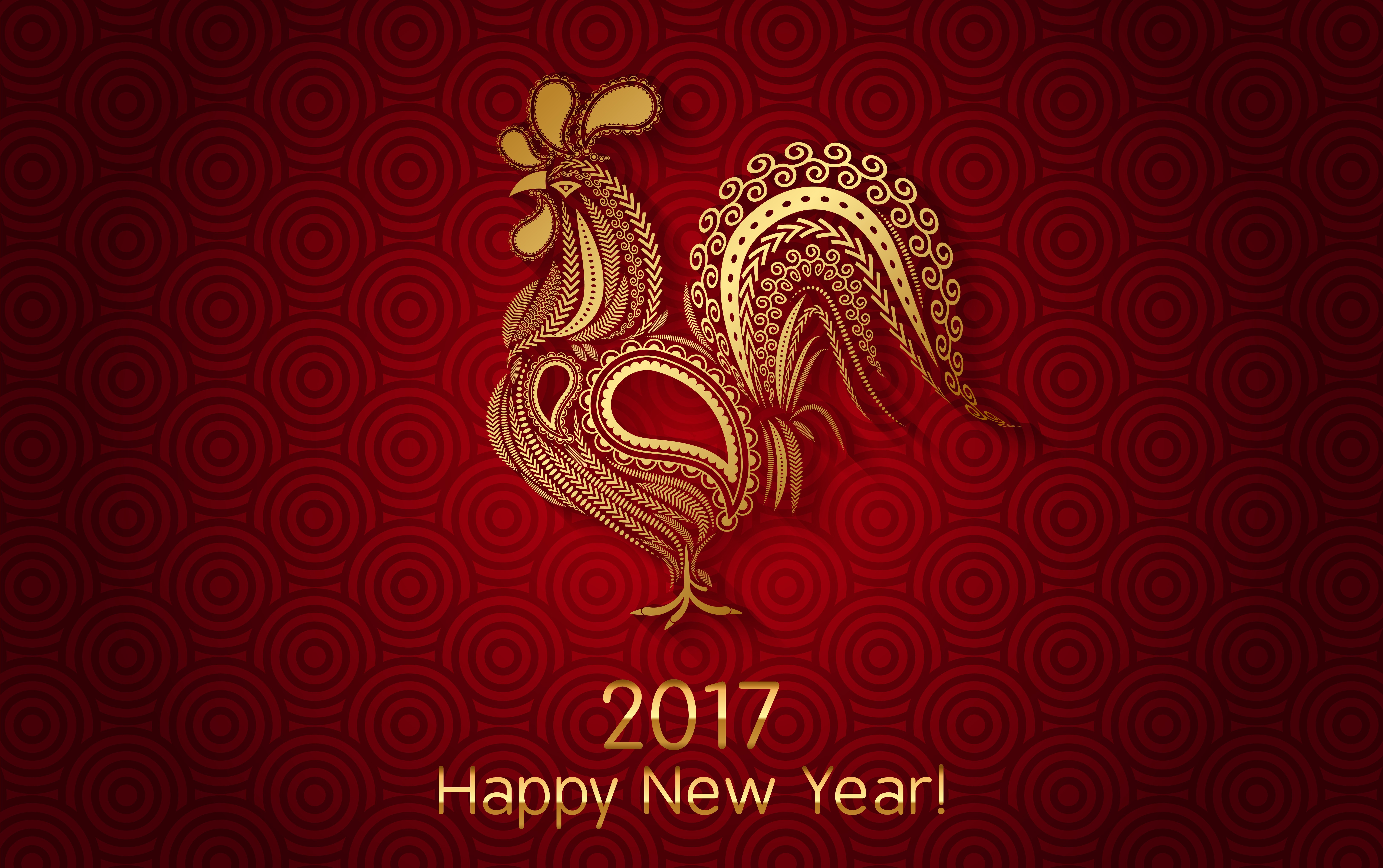 Chinese New Year 2017 The Year Of The Rooster