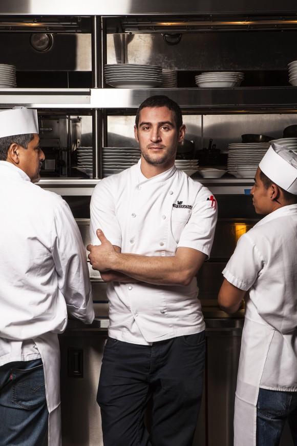 Executive chef Anthony Sasso. (XAVIER GIRARD LACHAINE)