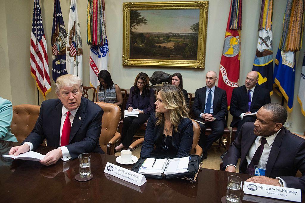Trump Criticizes Sen. Chuck Schumer's Press Conference: 'Fake Tears'