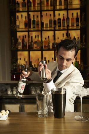 Swans Bar at Maison Assouline. (Laziz Hamani)
