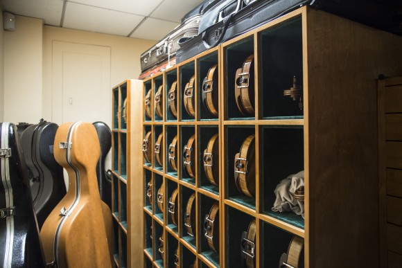 Instruments at Rare Violins of New York in Manhattan, New York, on Jan. 9, 2017. (Samira Bouaou/Epoch Times)