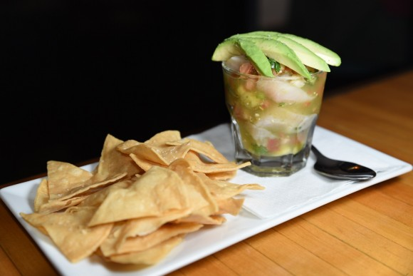 Ceviches are served at La Milagrosa. (Jason Greenspan)